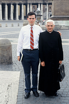 Tom Ryan and Joseph Cardinal Ratzinger